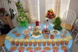 Mâm cúng đầy tháng, lễ vật, cách sắp mâm và các nghi thức cúng đơn giản đầy đủ nhất