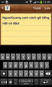 Hướng dẫn gõ tiếng Việt kiểu Telex, Vni trên điện thoại Android